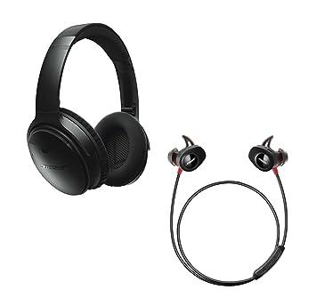 Bose QuietComfort 35 cancelación de ruido OVER-EAR & SoundSport pulso in-Ear inalámbrico