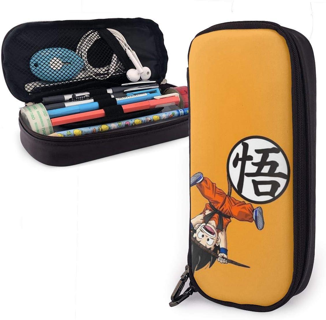 Dragon Ball Goku - Estuche para lápices con cremallera, tamaño pequeño, diseño de bola de dragón: Amazon.es: Oficina y papelería