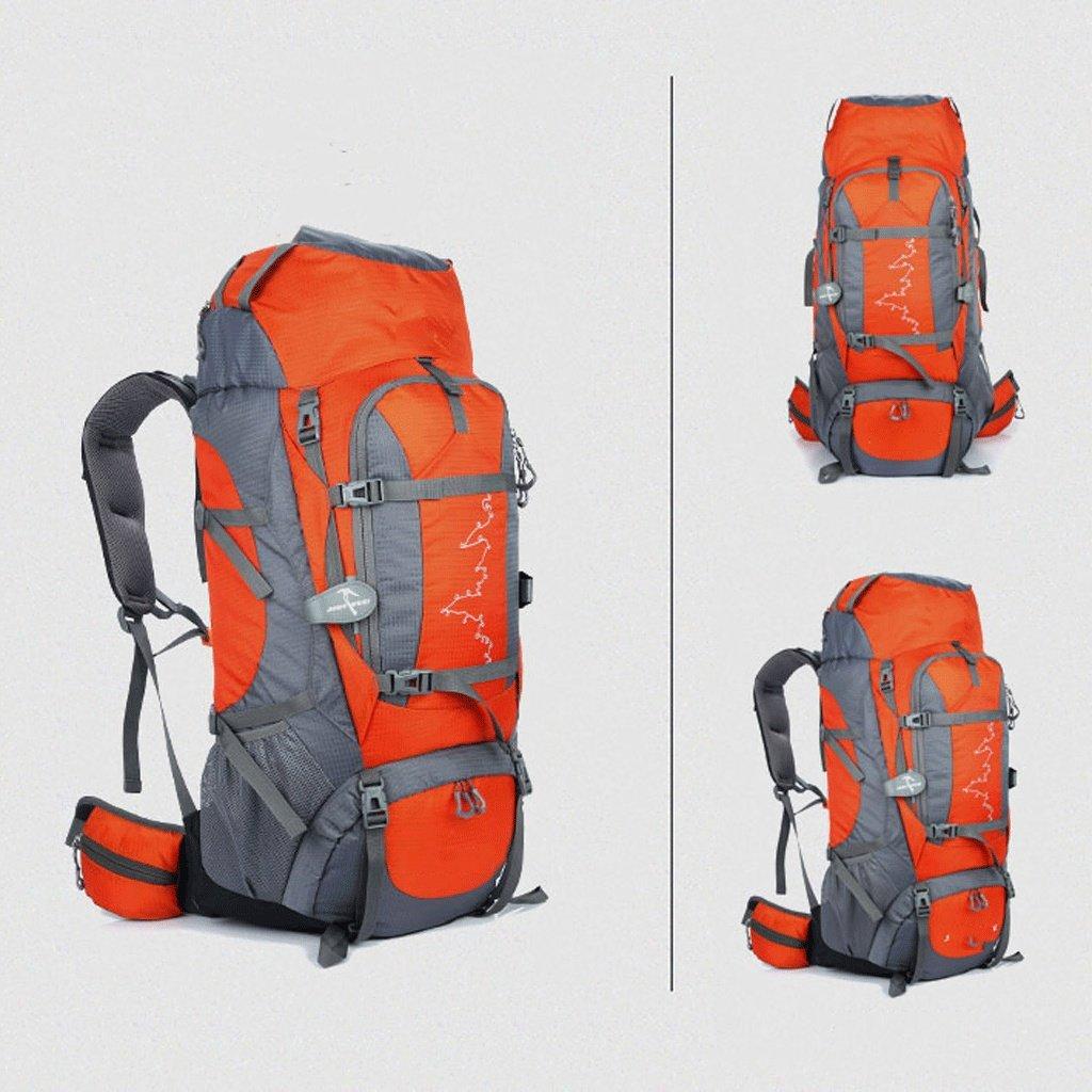 バックパック プロフェッショナル登山バッグ大容量防水屋外バッグメンズおよびレディース旅行バックパックCRステント通気性バックパック85L yhg バッグ (Color : #5) #5