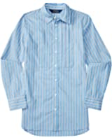 Ralph Lauren Girls Striped Long-Sleeve Shirt