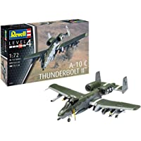 Revell-A-10 A/C Thunderbolt II Kit Modello, Color Plateado