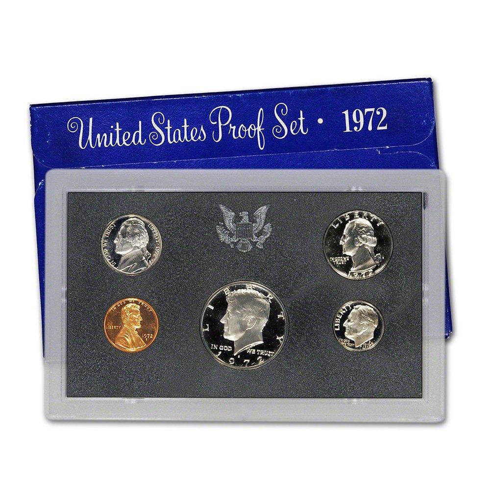1972 S US Proof Set Superb Gem Uncirculated