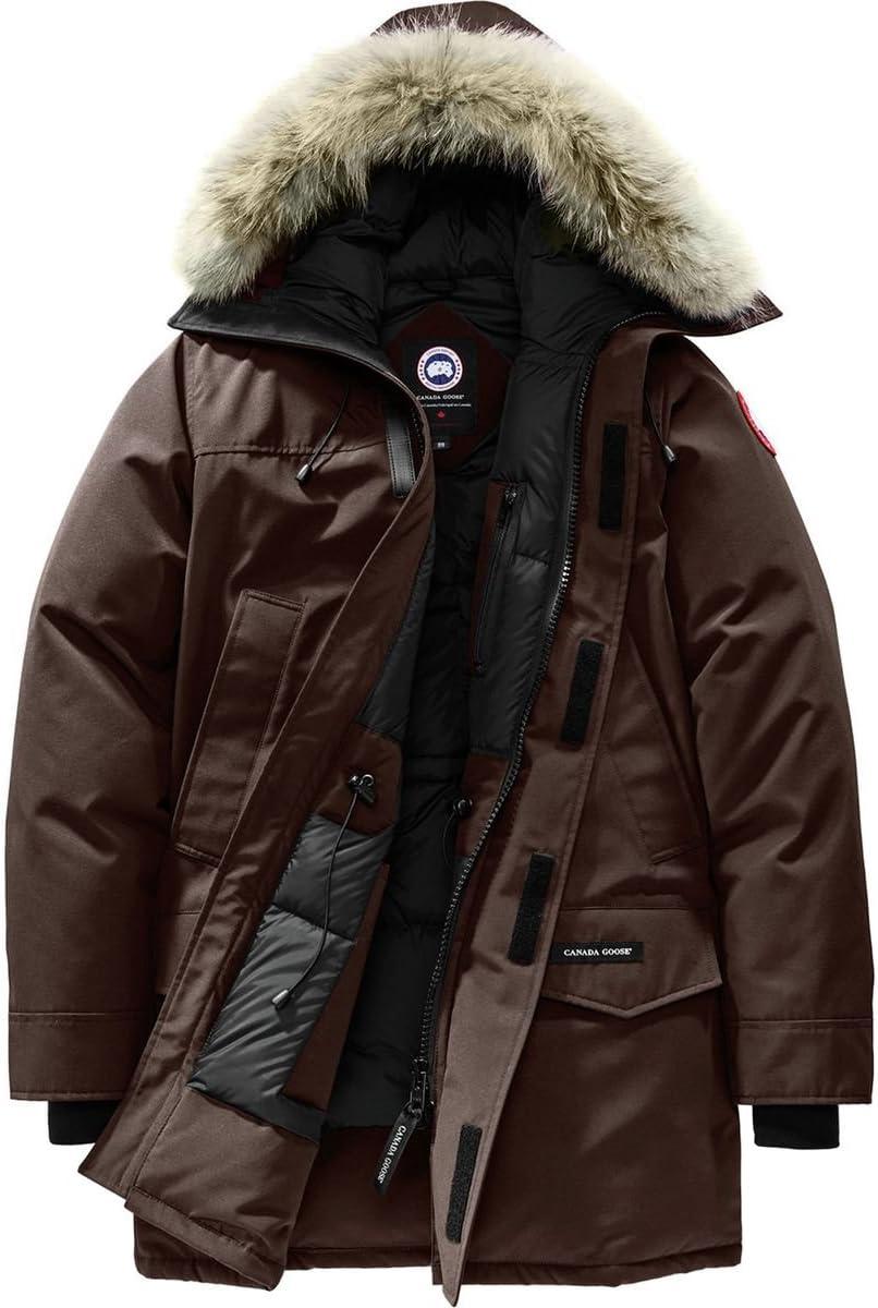 (カナダグース)Canada Goose Langford Down Parka メンズ ジャケットChar赤 Wood [並行輸入品] Char赤 Wood 日本サイズ M (US S)