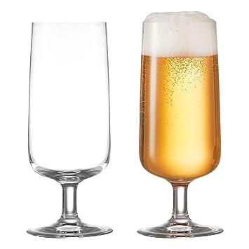 :first montana Bierglas 6er Set Biertulpe Pilsglas Bier Tulpe Glas 430 ml