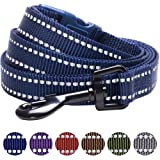 Blueberry Pet 3M Reflective Durable Dog Leash, 6 Colors, Matching Collar Available Separately