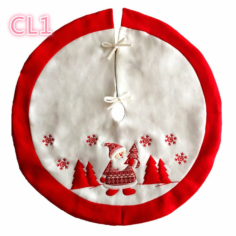 Santa Christmas Tree Skirt