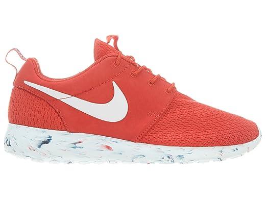 Nike Men's Roshe Run Challenge Red/Laser Crimson/Midnight Navy/White  Sneaker 13