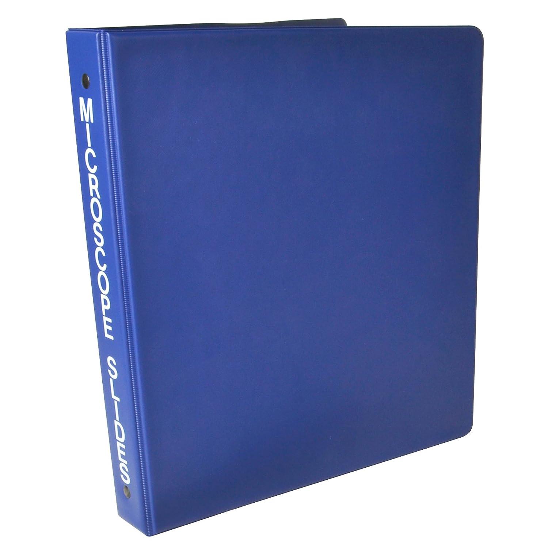 Bel-Art F44170-0000 View-Pack - Carpeta de anillas para microscopio, 10 páginas, 8-1/2 x 10-1/2 pulgadas, 160 capacidad de deslizamiento: Amazon.es: Industria, empresas y ciencia