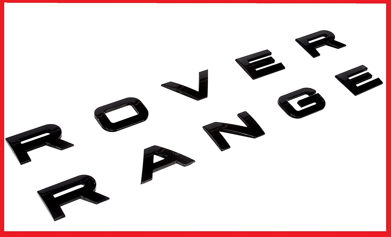 amazon com new set range rover glossy black land rover range emblem rh amazon com range rover logo hat range rover logo hat