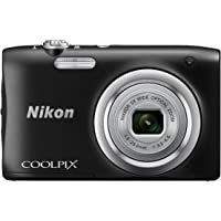 Nikon Coolpix A100 20.1 MP Point & Shoot Digital Camera, Black