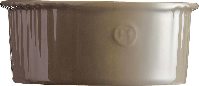 C/éramique 23 x 21 21 cm Gris Silex 5 x 10 cm Emile Henry EH956880 Moule /à Souffl/é
