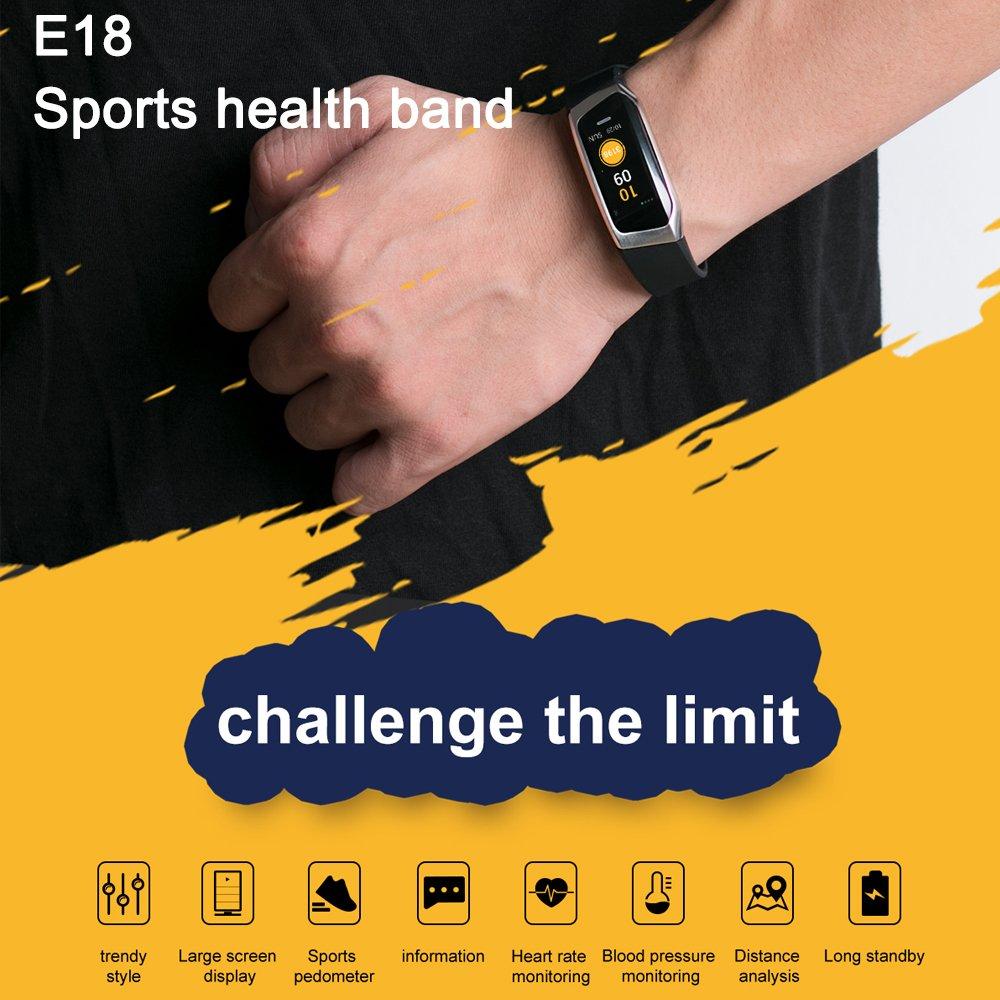 Fitness Reloj de pulsera con pulsómetro resistente al agua Fitness ...