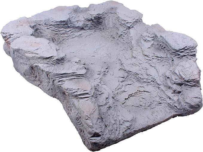 Étang de Jardin Cascade en fibre de verre sections Natural rock effet 23 eau cascade