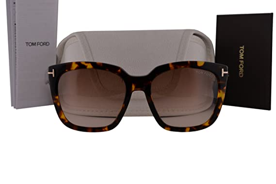 f5108ff146a2c Image Unavailable. Image not available for. Color  Tom Ford FT0502 Amarra  Sunglasses ...