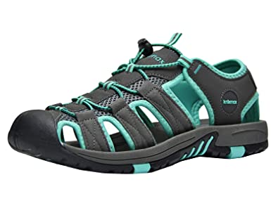 98bc6ff60d0ab Knixmax Men's Women's Closed Toe Sandals Sports Outdoor Beach Summer Shoes