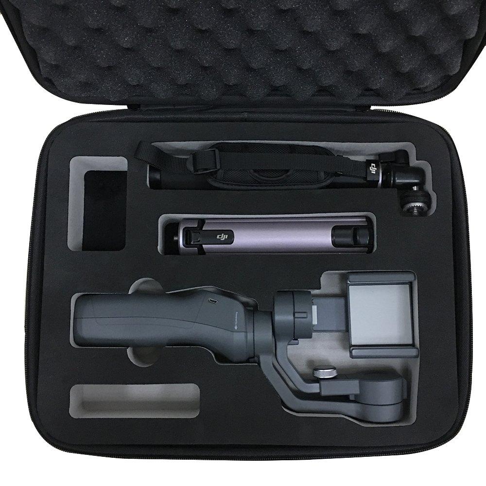 RCGEEK Compatible DJI Mavic 2 Pro Case Anti-Shock Carrying Case Shoulder Strap Compatible DJI Mavic 2 Pro Mavic 2 Zoom Mavic Pro Mavic Pro Platinum Accessories