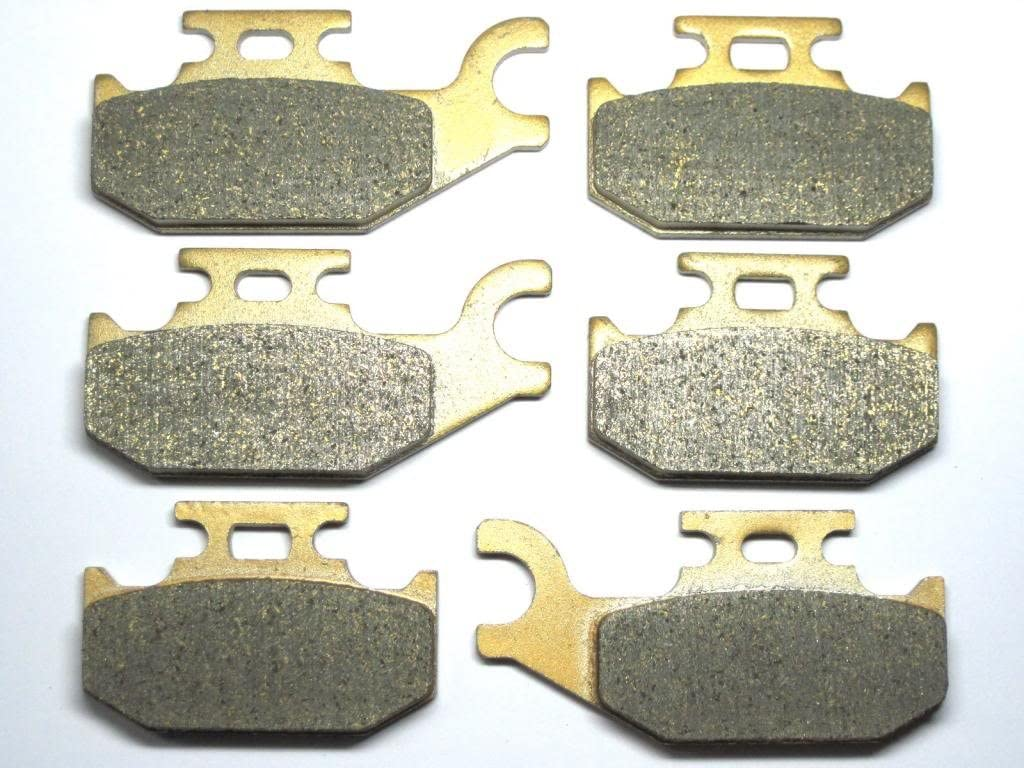 Can-Am Outlander Max 800R 800 R XT 4X4 Brake Pads Front and Rear for 2009 2010