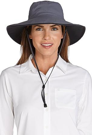 84df31b1720b1 Coolibar UPF 50+ Women s Shapeable Sun Catcher Hat - Sun Protective ...