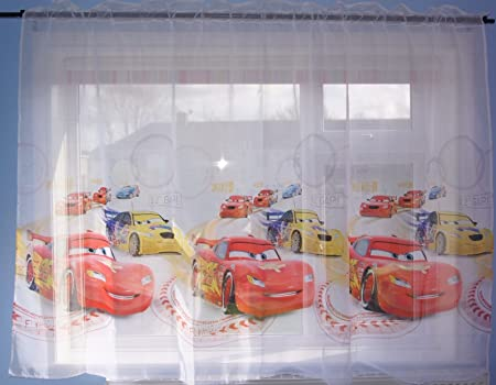 Rideaux Disney Cars - 150 x 150 cm - Pour chambre d\'enfant