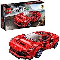 LEGO 76895 Speed Champions Ferrari F8 Tributo, Juguete de Construcción de Icónico Coche de Carreras con Mini Figura