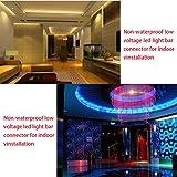 KINYOOO 10PCS LED 5050 RGB Strip Light Connector 4