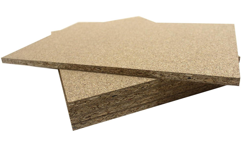 carpinter/ía y bricolaje. Chely Intermarket tablero aglomerado 400 x 600 x 8 mm elaborado con fibras de madera Especial para muebles