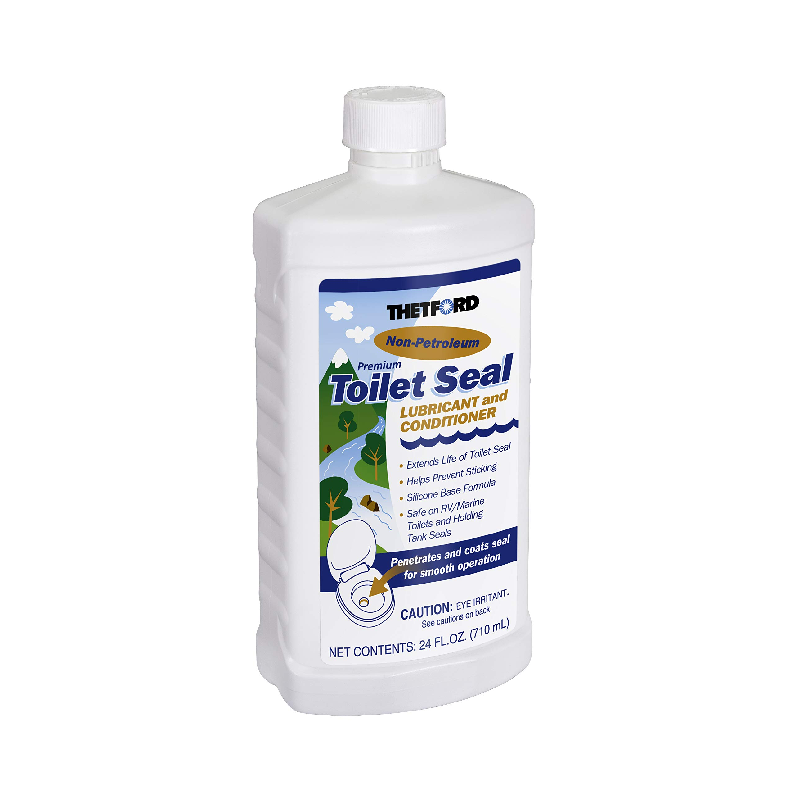 Thetford RV Toilet Seal Lube and Conditioner - Toilet Seal Lubricant - 24 oz 36663