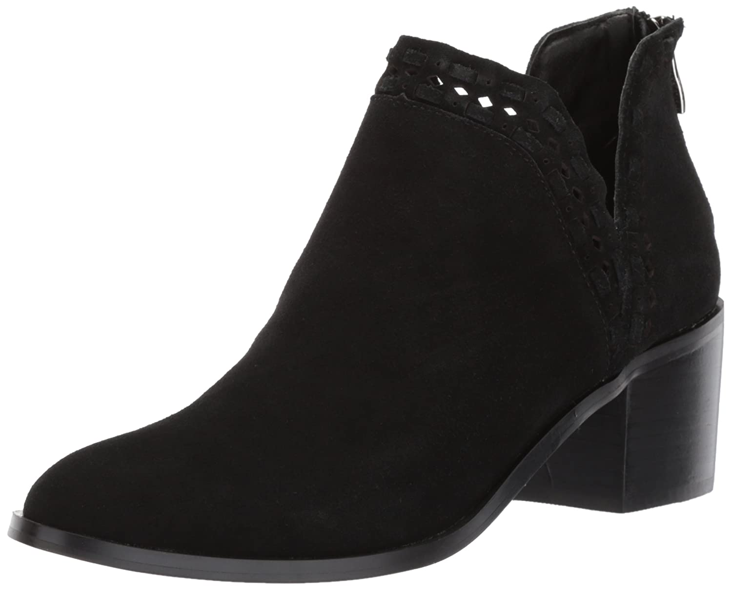 Steve Madden Women's Java Ankle Boot B075NG42L6 9.5 B(M) US|Black Suede