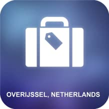 Overijssel, Holanda Mapa