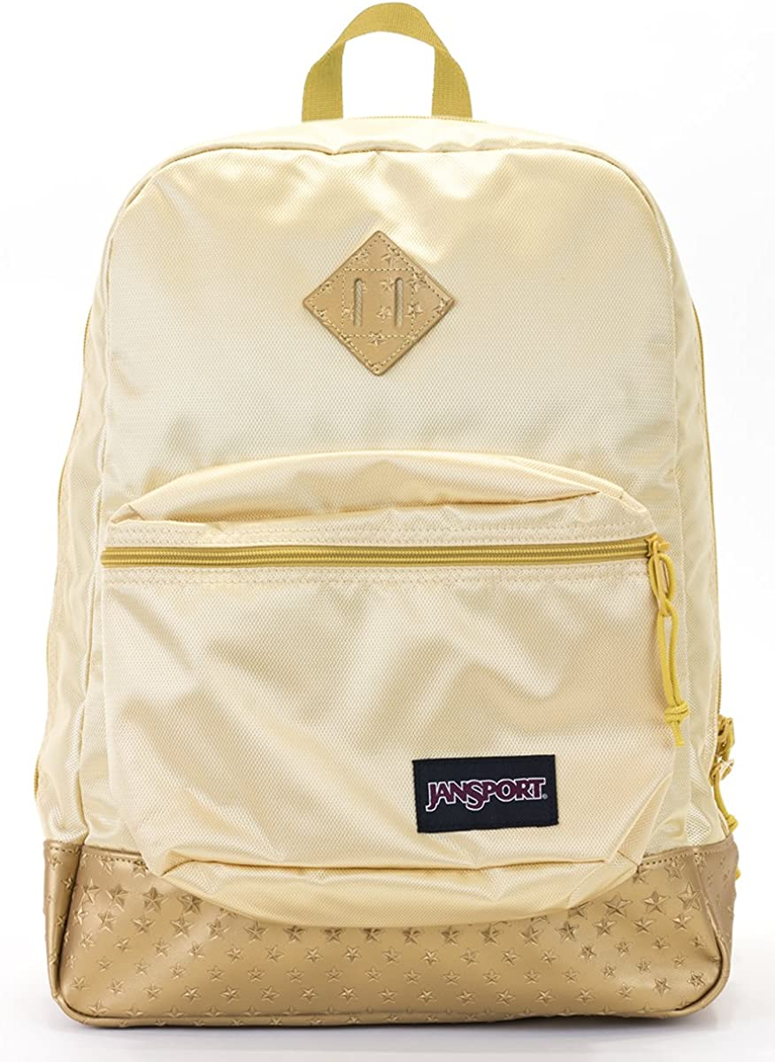 Jansport Superbreak Backpack'super FX gold3d'star