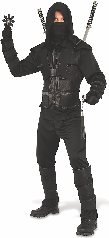 Rubie's Men's Dark Ninja Costume