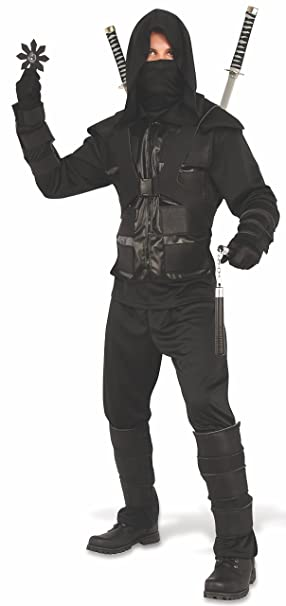 Amazon.com: Rubies Mens Dark Ninja Costume: Clothing