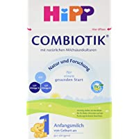 Hipp 喜宝 Combiotik婴幼儿1段奶粉 适合新生儿 4盒装 (4 x 600 g)