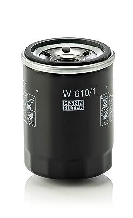 MANN-FILTER W 610/1 Original Filtro de Aceite, para automóviles y ...