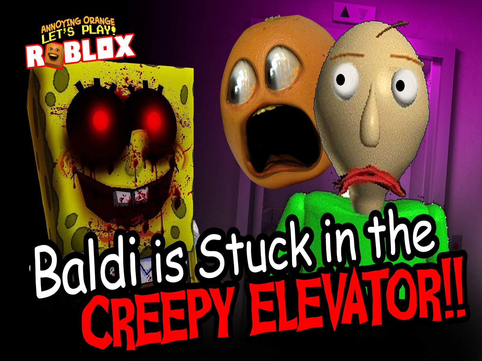 Roblox Horror Lift Watch Clip Roblox Horror Games Annoying Orange Gaming Prime Video