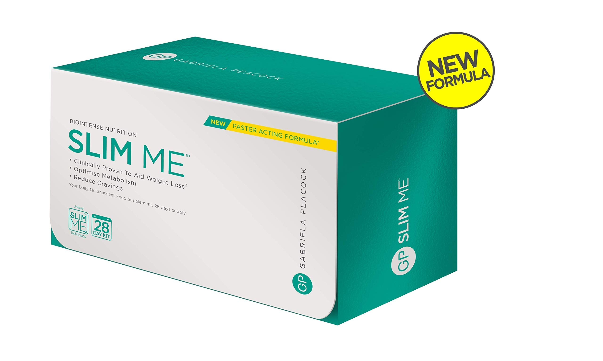 New & Improved Slim Me 28 Days Slimming Supplements Kit - Powerful Slimming Supplement - with Glucomannan to Suppress Appetite & Regulate Blood Sugar - 28 Days Supply