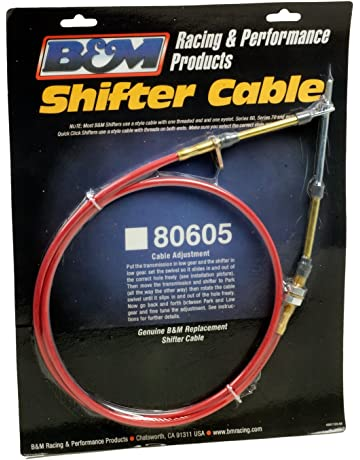 B&M 80605 5 Long Performance Shifter Cable