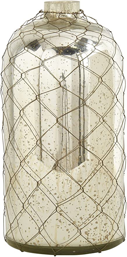 Creative Co-op DA0572-1 Mercury Glass Decorative Heart