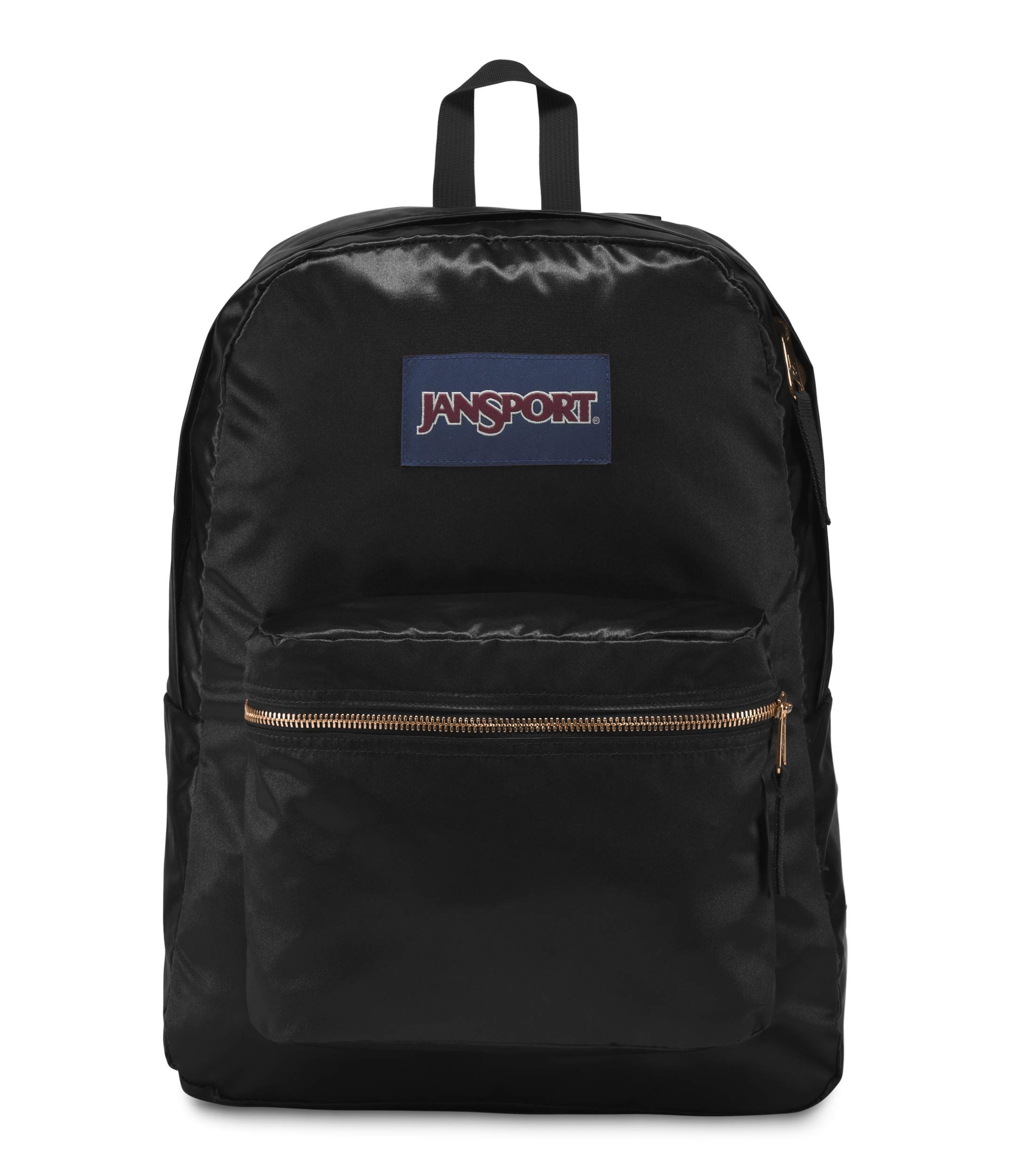 JanSport High Stakes Backpack Russet Red/Rose Gold