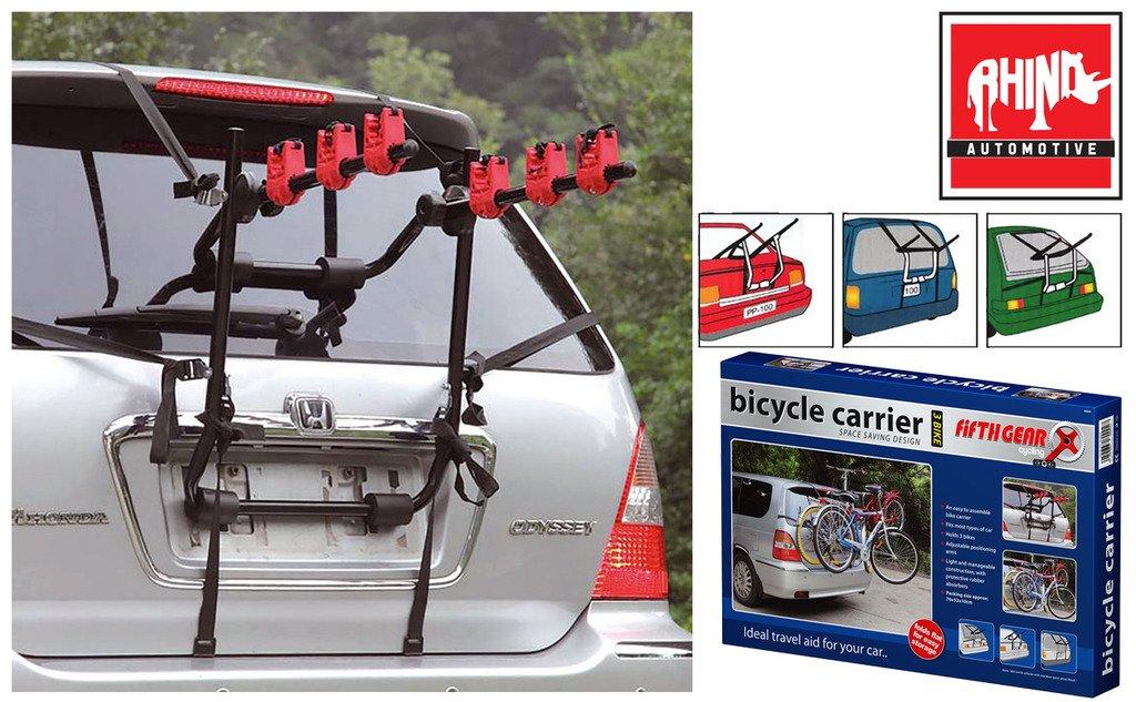 Rhino Automotive© 3de vélo arrière plat de transport de voiture de vélo Rw1179