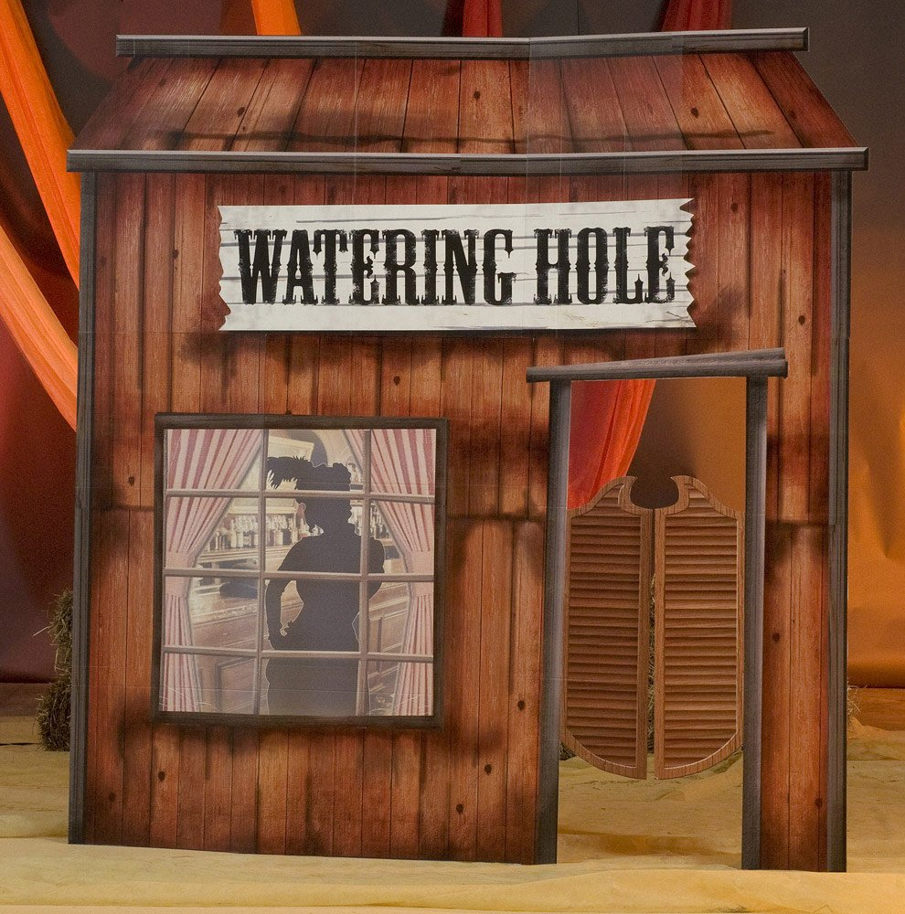 Old West Watering Hole Prop