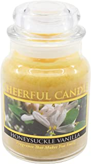 product image for A Cheerful Giver 6oz Honeysuckle Vanilla Cheerful Jar Candle, Yellow