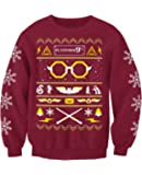 Wizard Harry Adults Harry Potter Inspired Novelty Christmas Sweatshirt Jumper