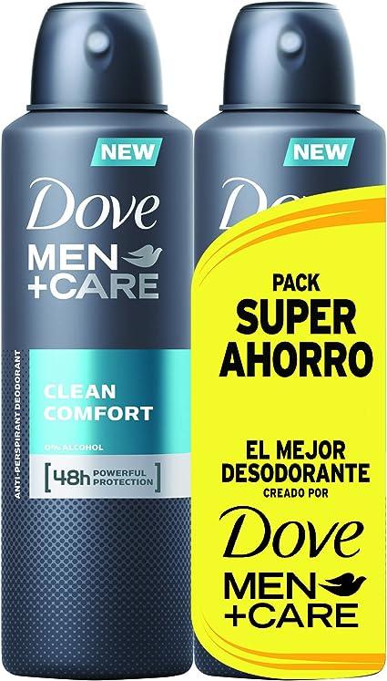 Dove Men Pack Ahorro Desodorante Clean Comfort - 200 ml: Amazon.es: Belleza