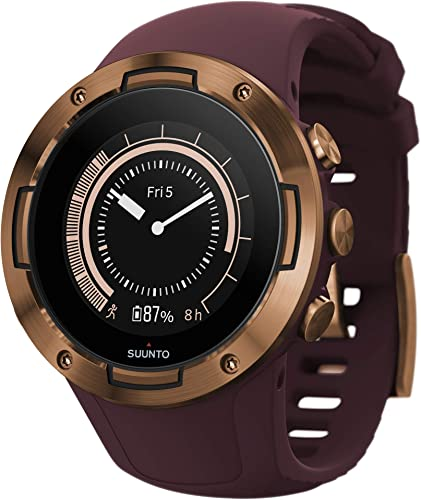 Suunto 5, Lightweight and Compact GPS Sports Watch with 24 7, Activity Tracking and Wrist-Based Heart Rate