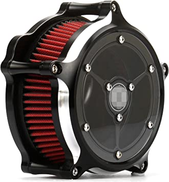 For Harley Sportster XL 883 1200 See Though Clarity Air Cleaner Intake Filter