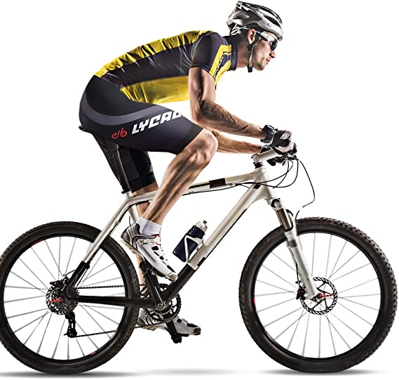 Mens Cycling Cycle Shorts Anti-Bac Coolmax Padded MTB Bicycle Short S to 2XL