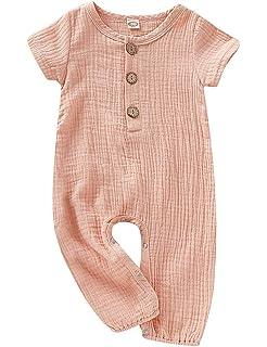 Amazon.com: Clearance! Newborn Baby Girl Summer Cotton Sleeveless ...