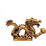 Amazon com: PNPGlobal Dagon Gold Chinese Luck Statue