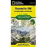Yosemite SW: Yosemite Valley and Wawona (National Geographic Trails Illustrated Map, 306)